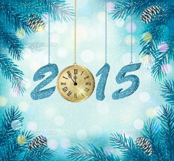 Happy New Year 2015 - New Year Seasons/Holidays