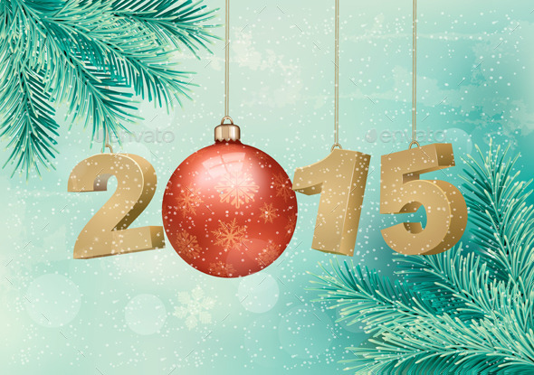 Happy New Year 2015  - New Year Seasons/Holidays