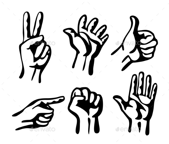 Hands - People Characters