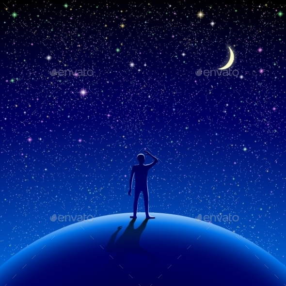 Night Sky - People Characters