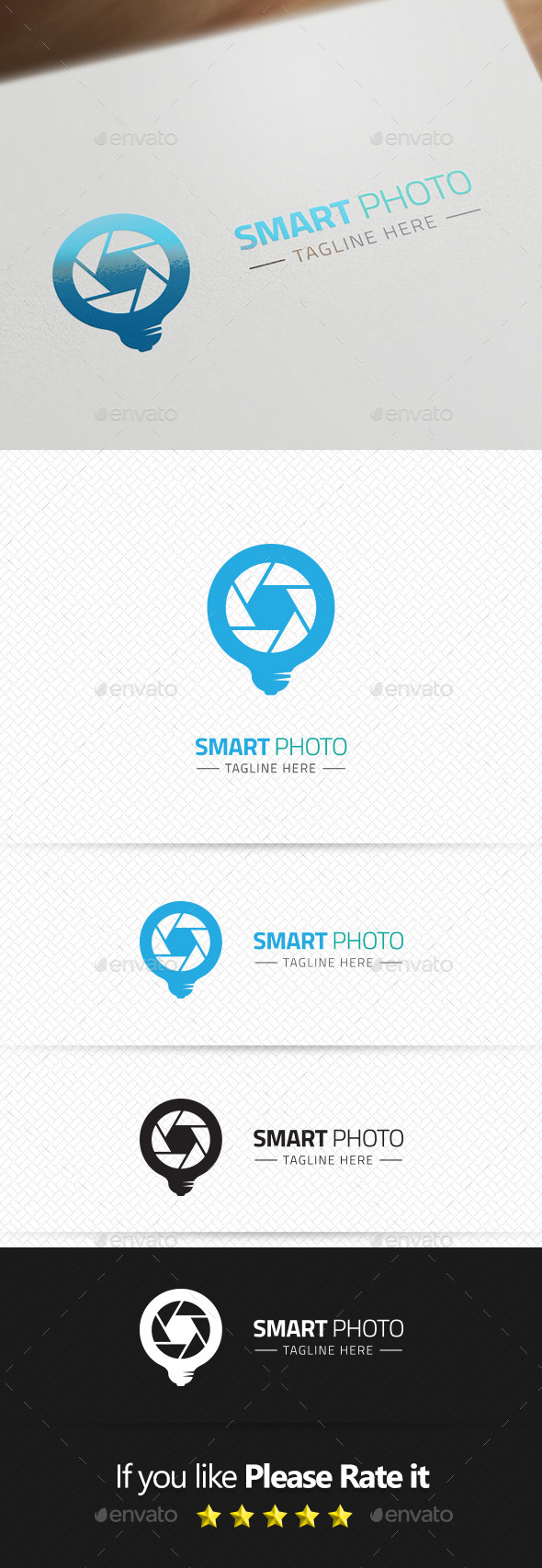 Smart Photo Logo Template - Symbols Logo Templates