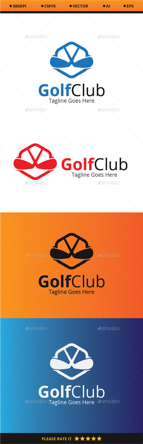 Golf Club - Logo Templates