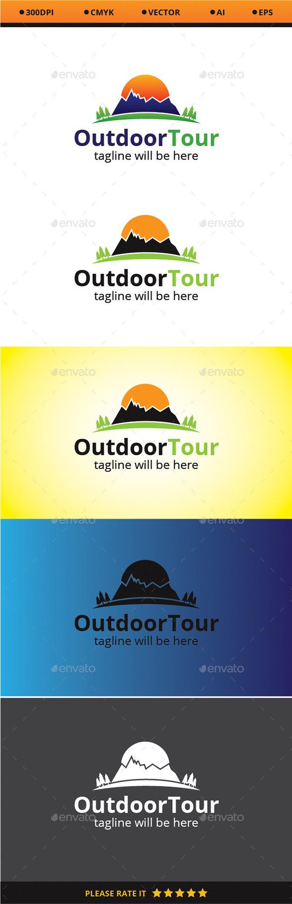 Outdoor Tour - Logo Templates