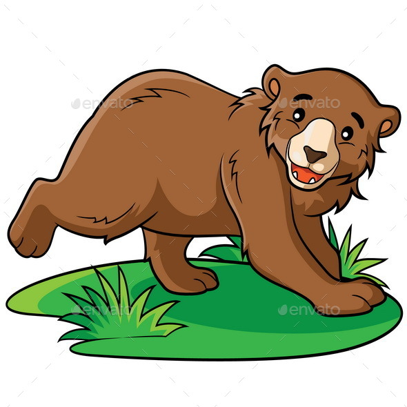 Bear Cartoon - Animals Characters