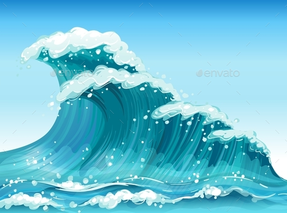 Big Waves - Travel Conceptual