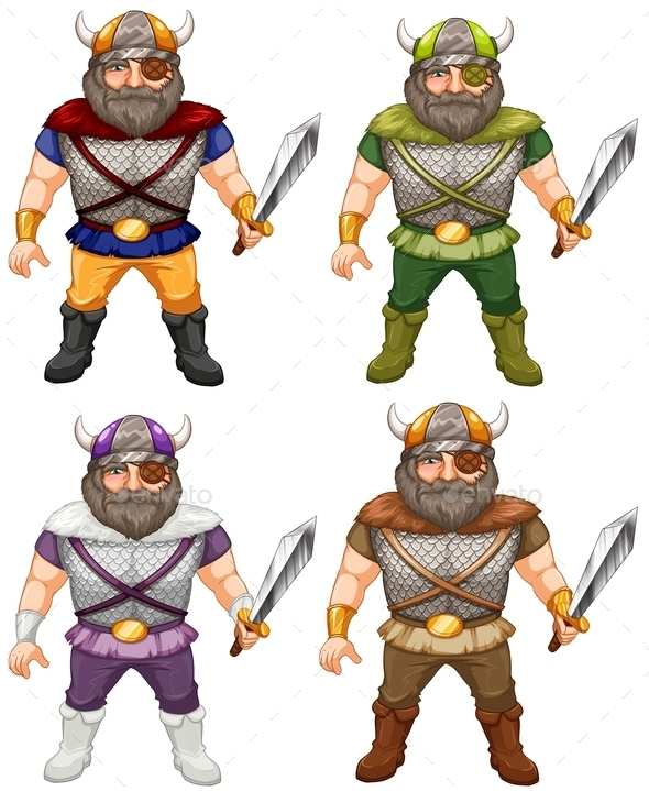 Vikings - People Characters