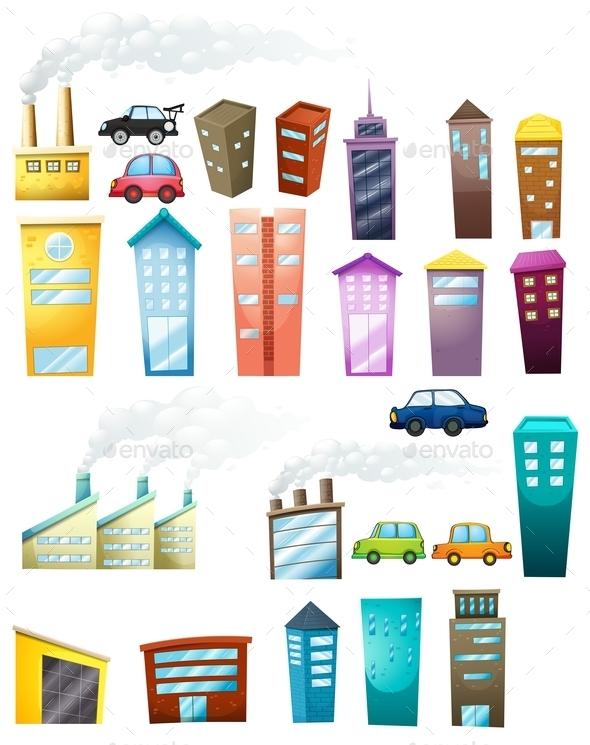 Buildings - Buildings Objects