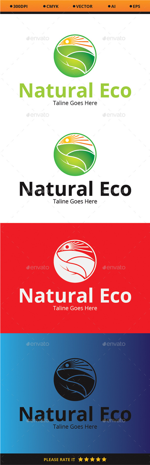 Natural Eco - Nature Logo Templates