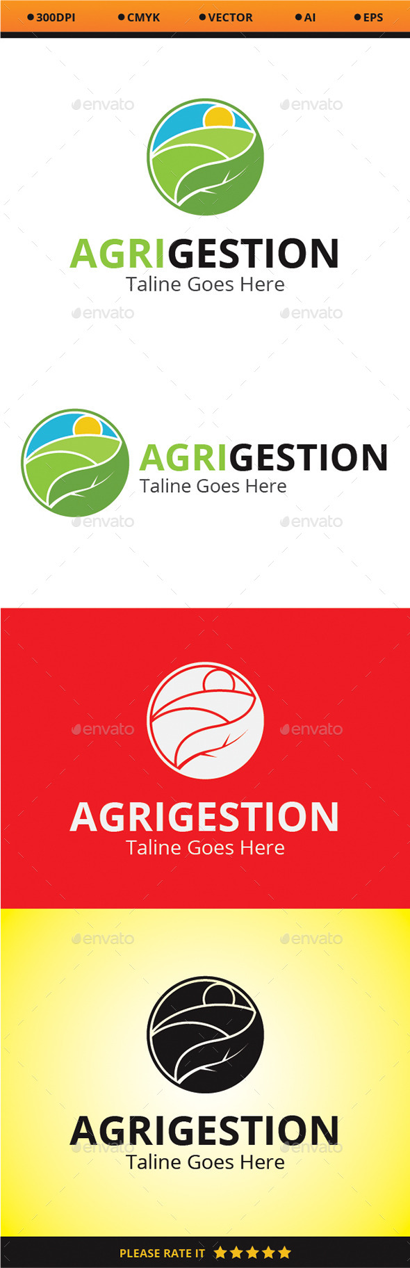 Agri Gestion - Nature Logo Templates