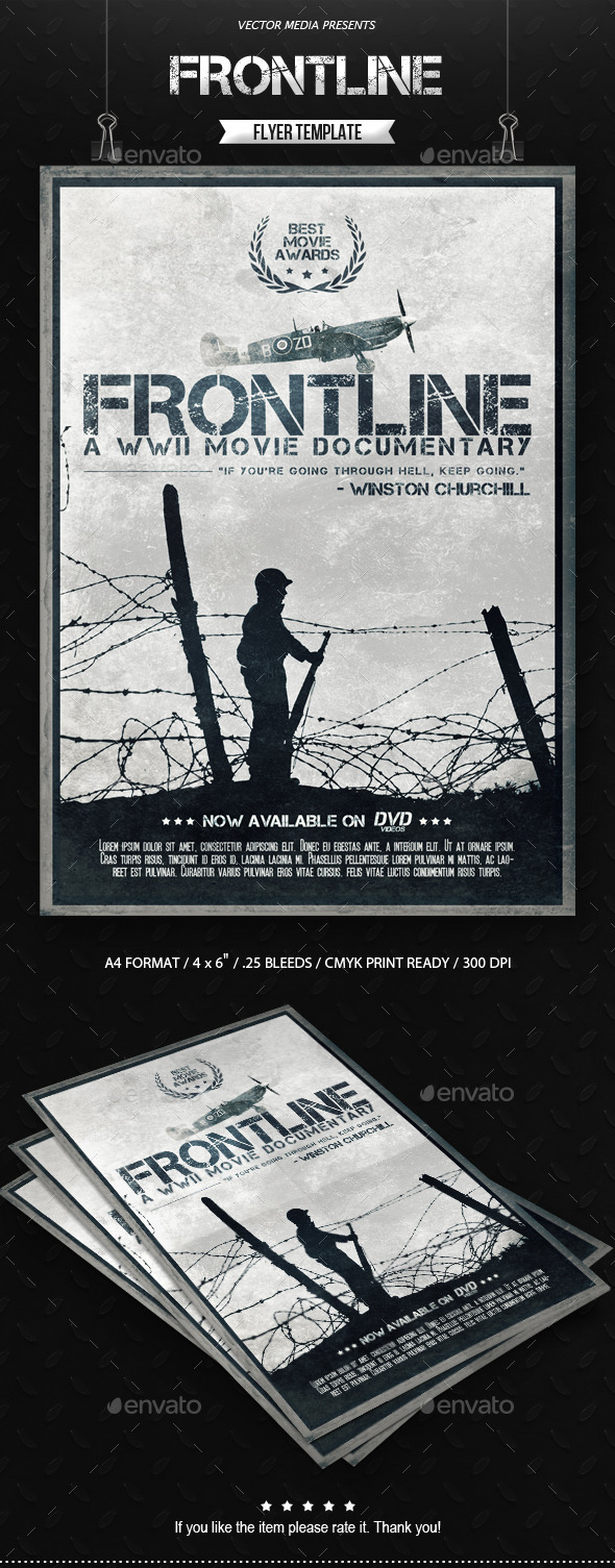 Frontline - Movie Poster - Miscellaneous Events