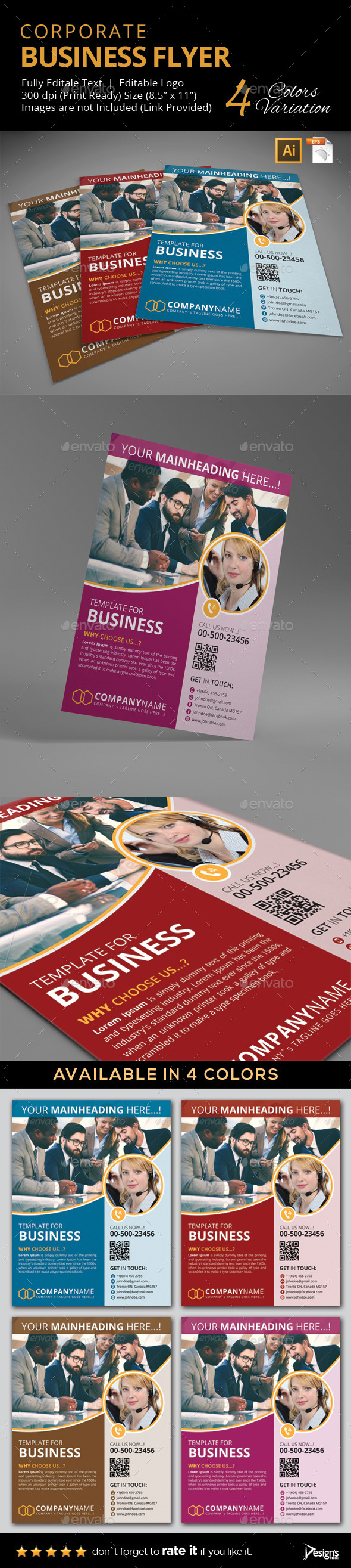 Flyer - Multipurpose Business Flyer 9 - Corporate Flyers