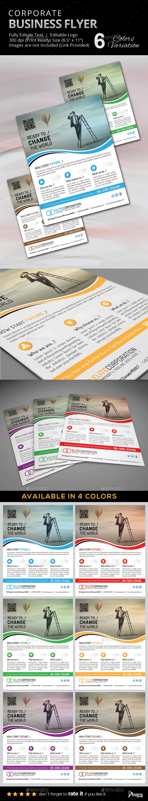 Flyer - Multipurpose Business Flyer 10 - Corporate Flyers
