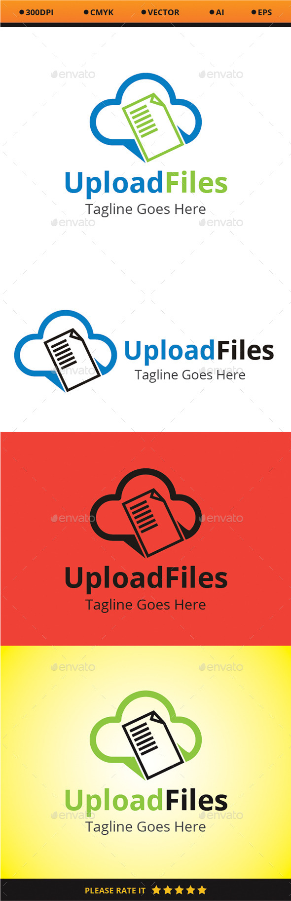 Upload Files - Logo Templates