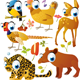 Vector Cartoon Animals Set - GraphicRiver Item for Sale