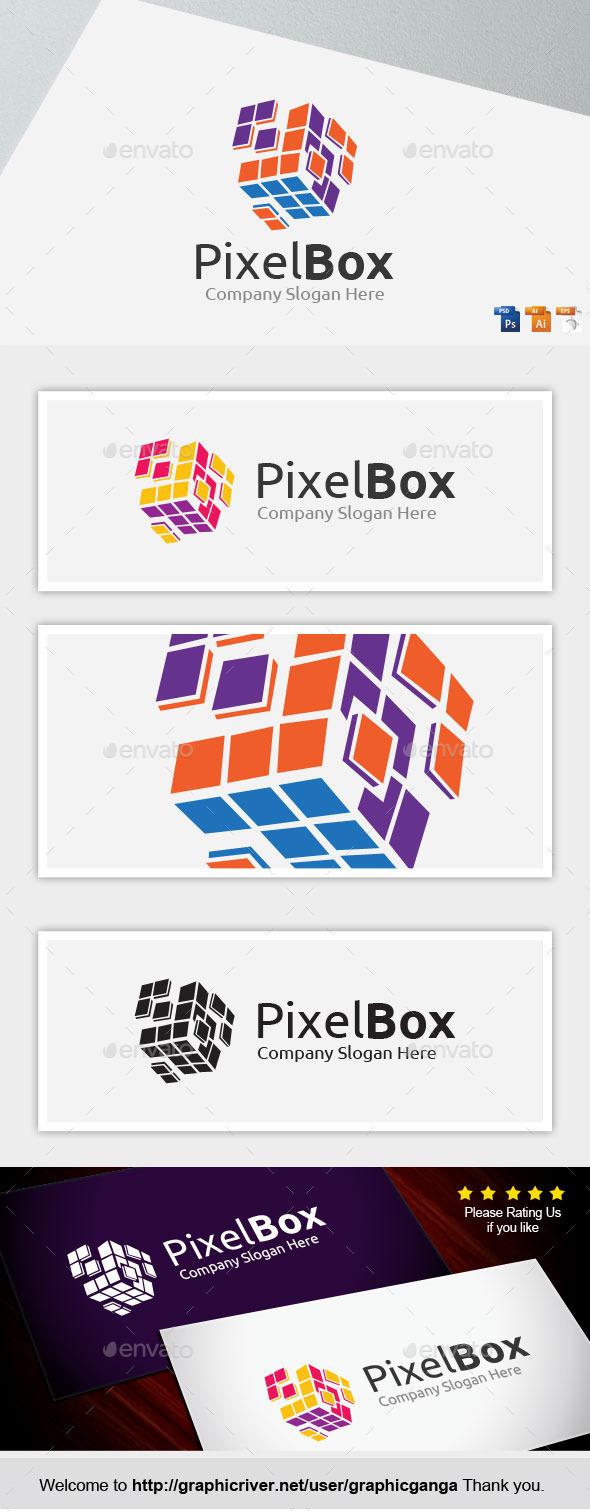 Pixel Box - Abstract Logo Templates