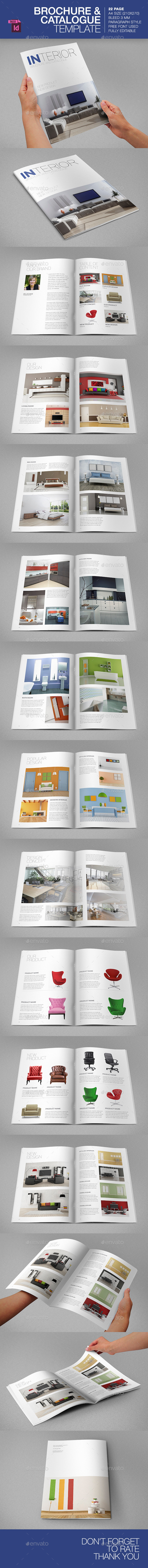 Brochure/Catalogue Template - Brochures Print Templates