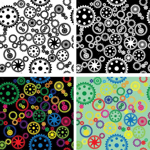 Gear - Patterns Decorative