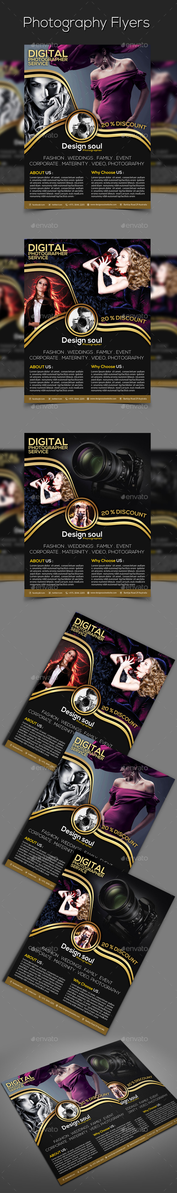 Photography Flyers - Corporate Flyers