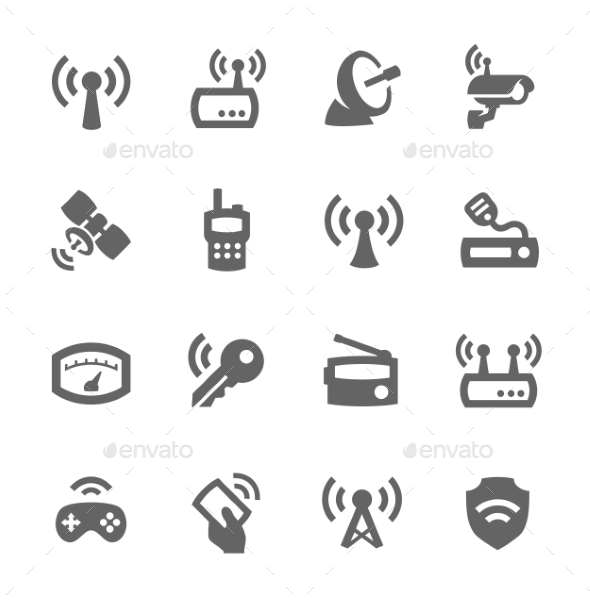 Radio Icons - Objects Icons