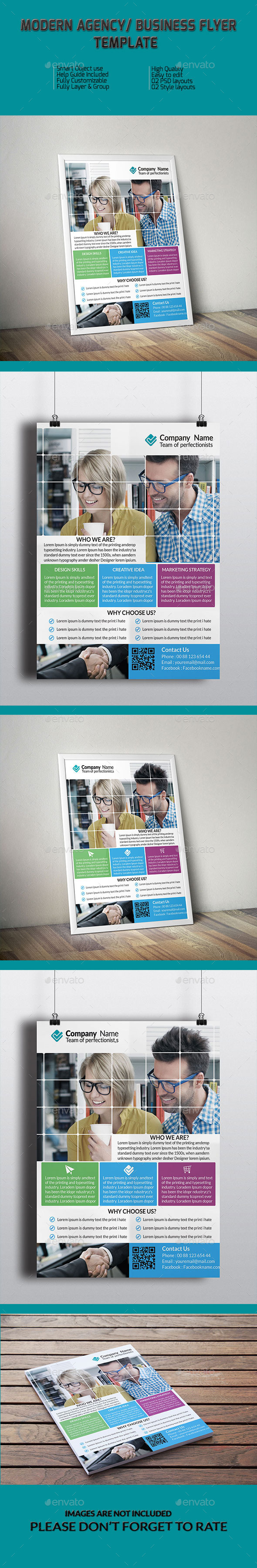 Modern Agency/ Business Flyer Template - Corporate Flyers