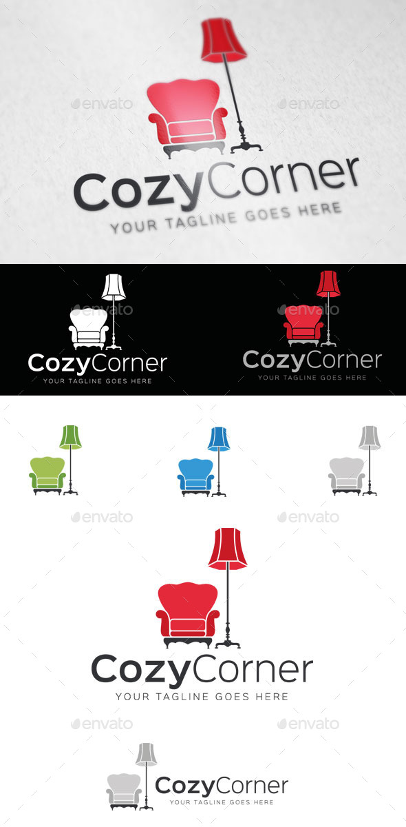 Cozy Corner Logo Template - Objects Logo Templates