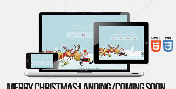 Merry Christmas – Illustrated/Animated LESS Theme