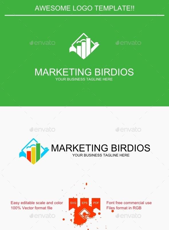 Marketing Birdios Logo - Logo Templates