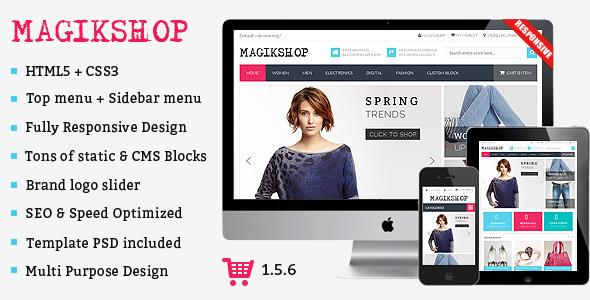 Shop - Premium Responsive OpenCart Theme - Shopping OpenCart