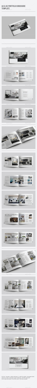A4 & A5 Portfolio Brochure Template - Portfolio Brochures