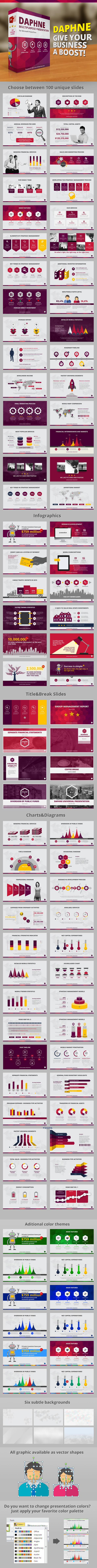 Daphne PowerPoint Template - Business PowerPoint Templates