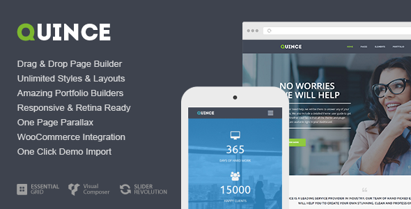 Quince – Modern Business Theme