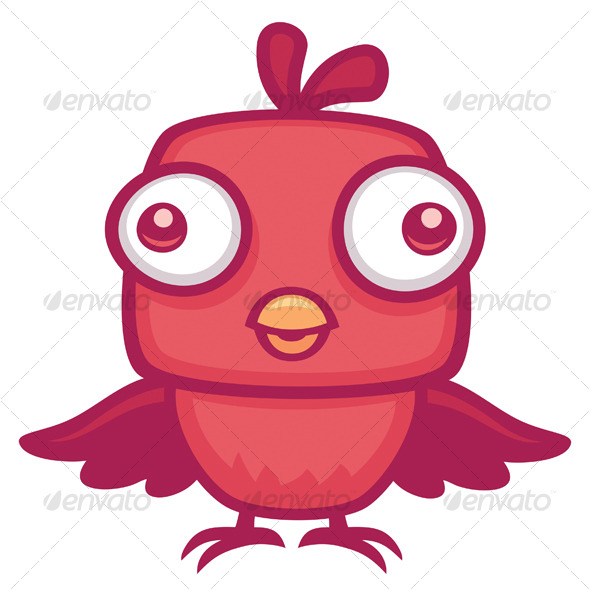 Cute Baby Bird - Animals Characters