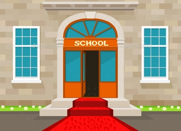 Welcome to School - Buildings Objects