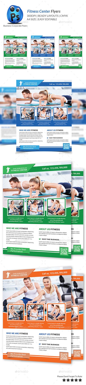 Fitness Flyer Print Templates - Flyers Print Templates