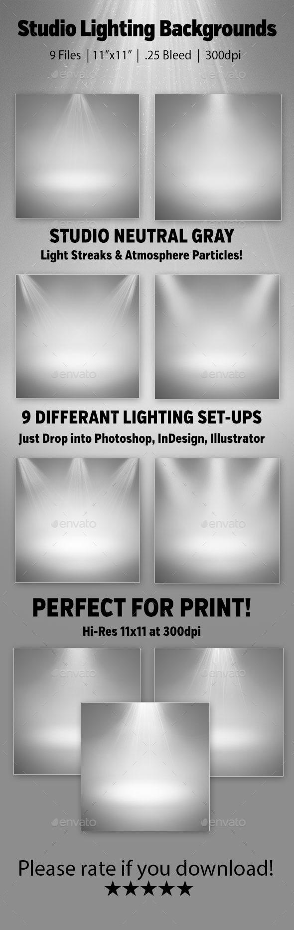 Studio Lighting Backgrounds - Backgrounds Graphics
