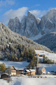 Dolomites village in winter - PhotoDune Item for Sale