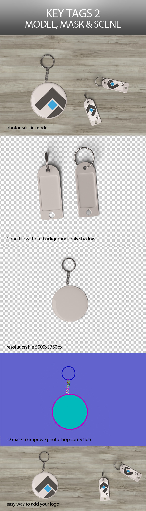 Key Tags 2 - 3DOcean Item for Sale