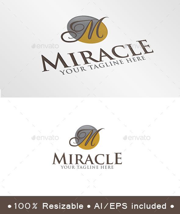 Letter M Luxury Logo - Letters Logo Templates