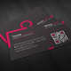 Pink and Creative Business card - GraphicRiver Item for Sale