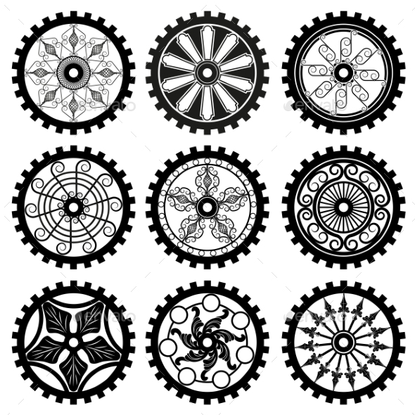 The Gears - Decorative Symbols Decorative