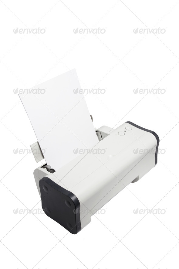 Printer - Stock Photo - Images