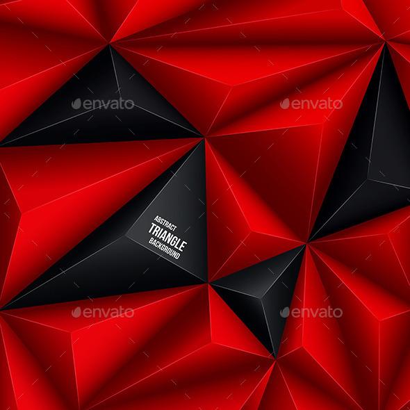 Polygonal Background - Patterns Decorative