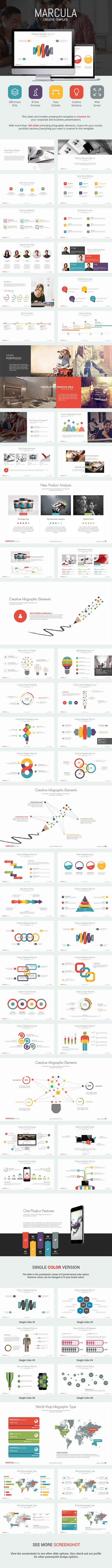 Marcula - Presentation Template - PowerPoint Templates Presentation Templates