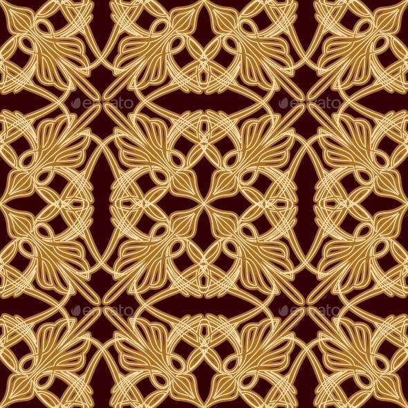 Seamless Old Eastern Pattern - Patterns Decorative