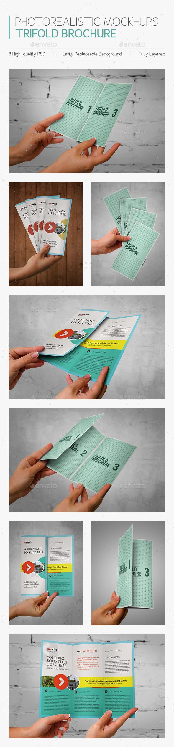Photorealistic Mock-ups Brochures - Brochures Print