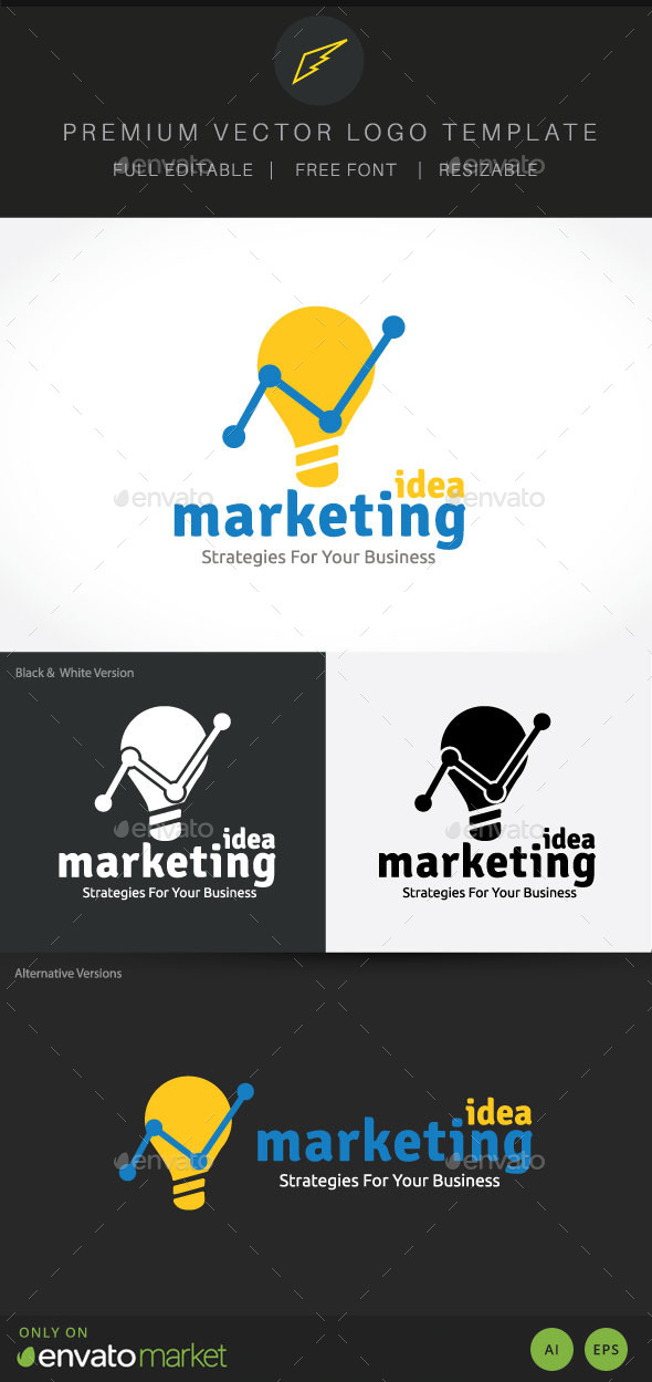 Marketing Idea - Symbols Logo Templates