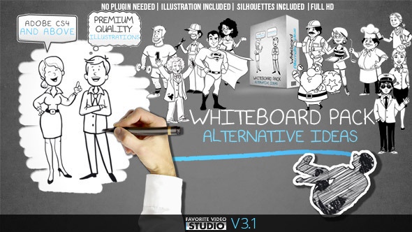 Whiteboard: Alternative Ideas 5874955