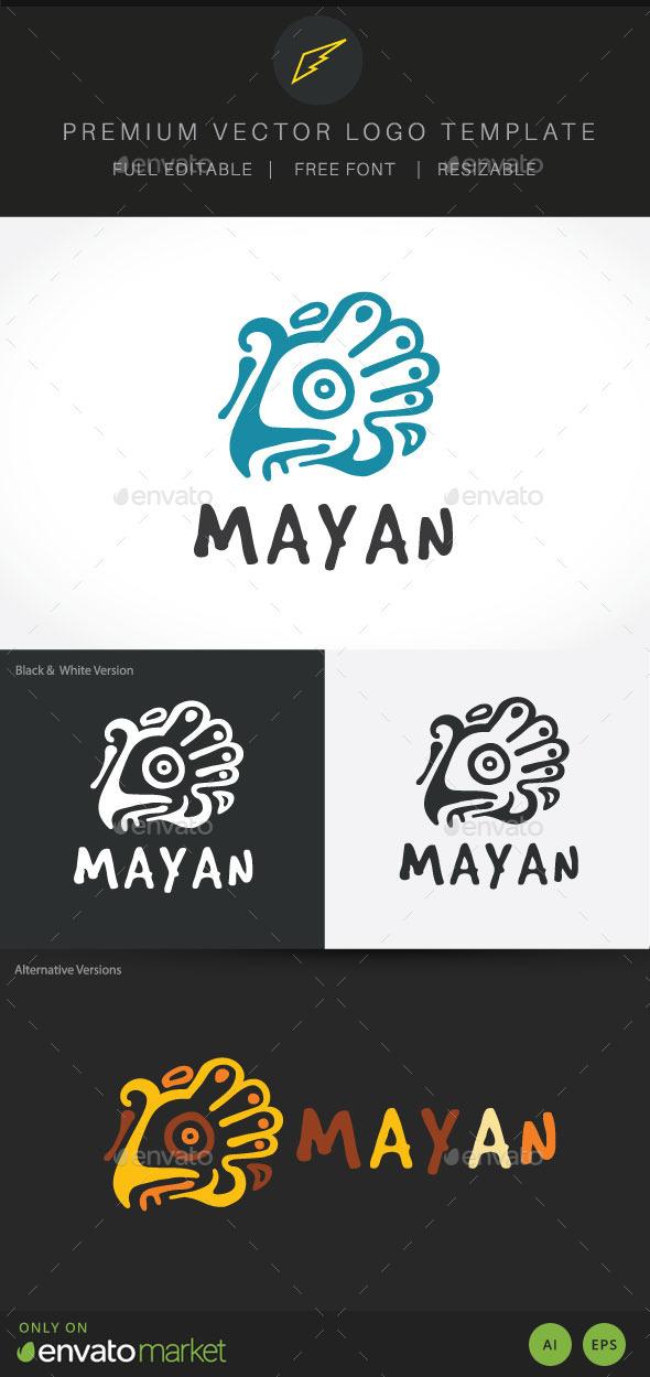 Mayan - Crests Logo Templates