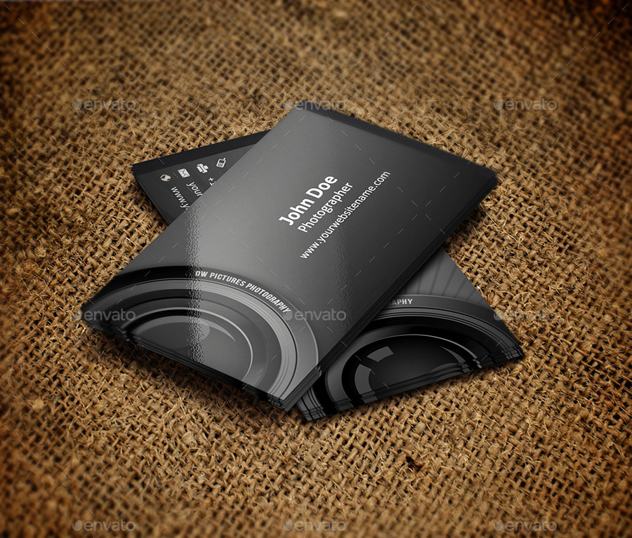Photographer Business Card by OWPictures | GraphicRiver