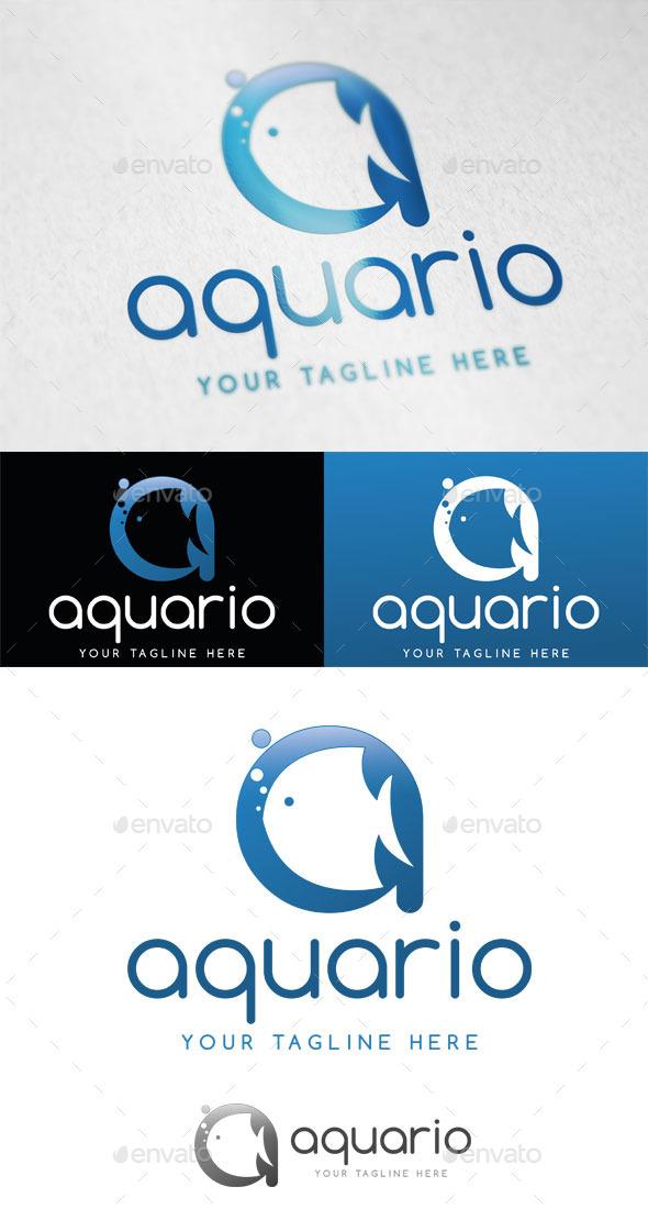 Aquario Logo Template - Letters Logo Templates